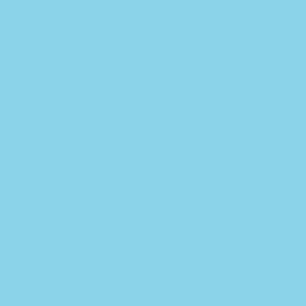 solid blue colour