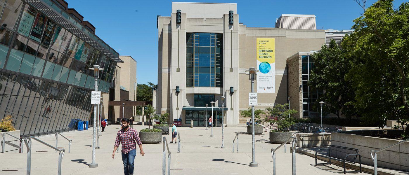 Mills Memorial Library Entrance