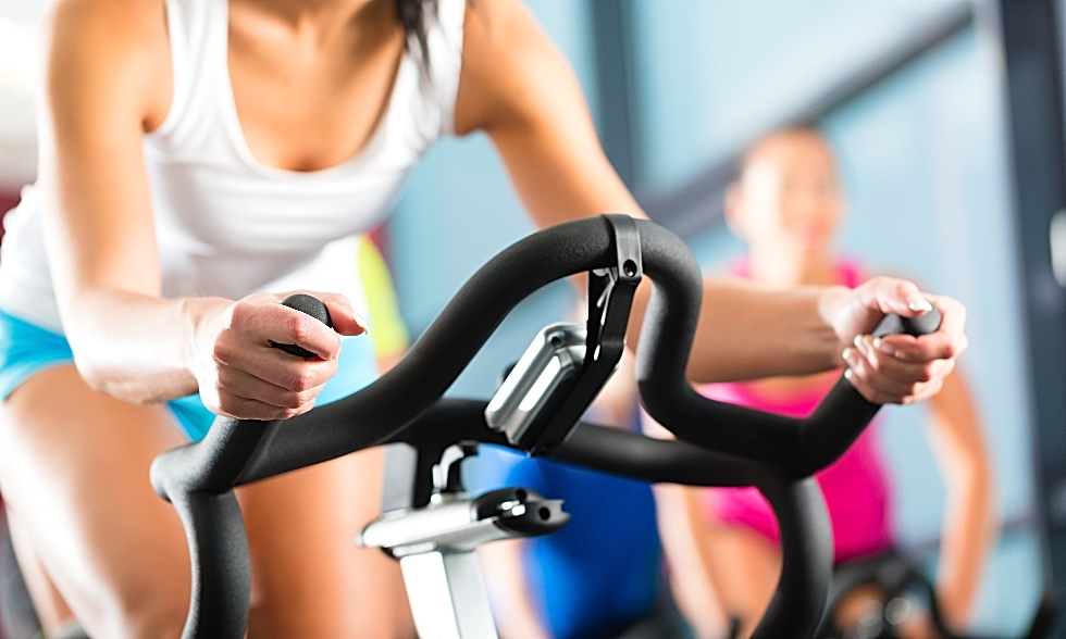 Young-woman-on-an-exercise-bike980